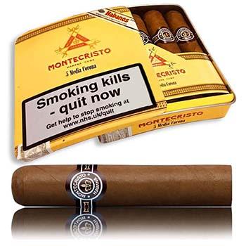Montecristo 'Media Corona' Now Available in Tins of 5