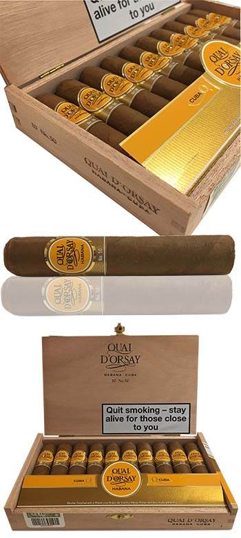 New Q D'Orsay No. 50 NOW IN STOCK  !