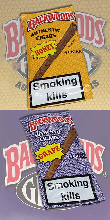 Backwoods with 'TWO NEW FLAVOURS'