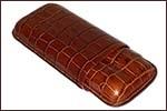 Crocodile Imitation leather cigar cases